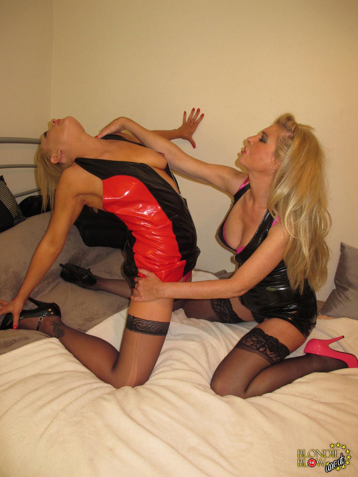 Blondie girlfriend having fun with her bbc comp 8